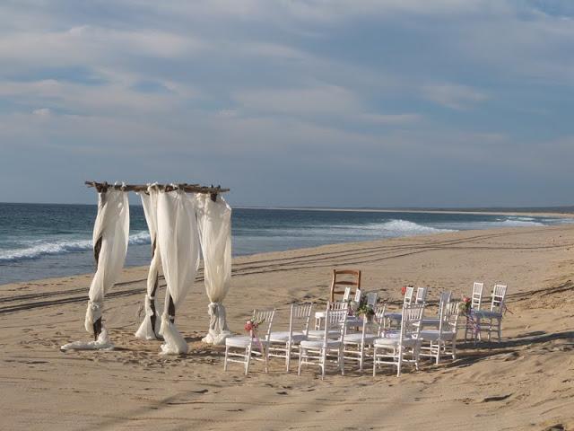 Beach Wedding In Todos Santos At Villa Santa Cruz