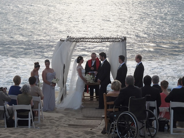 Elegant Beach Wedding At Villa Santa Cruz