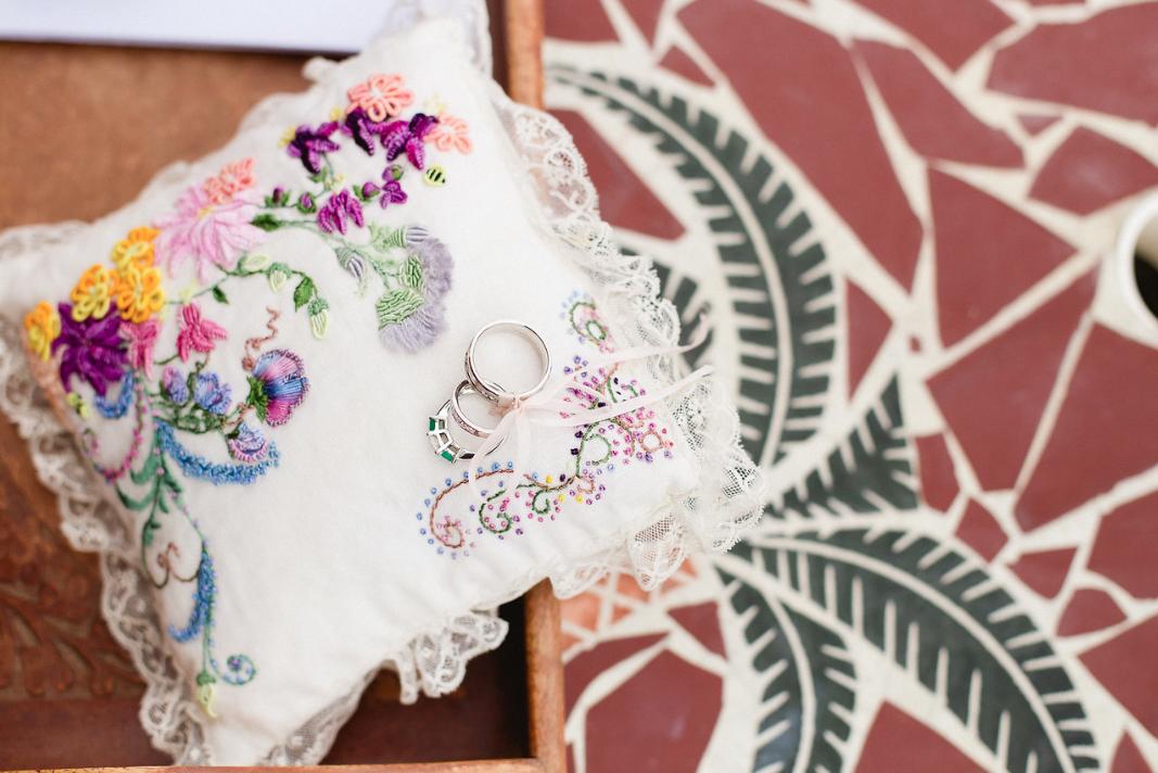 Baja wedding rings